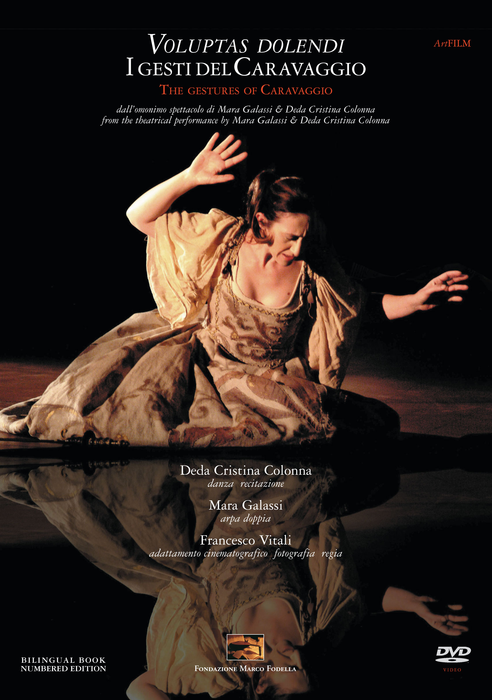 DVD Voluptas dolendi the gestures of Caravaggio 2008