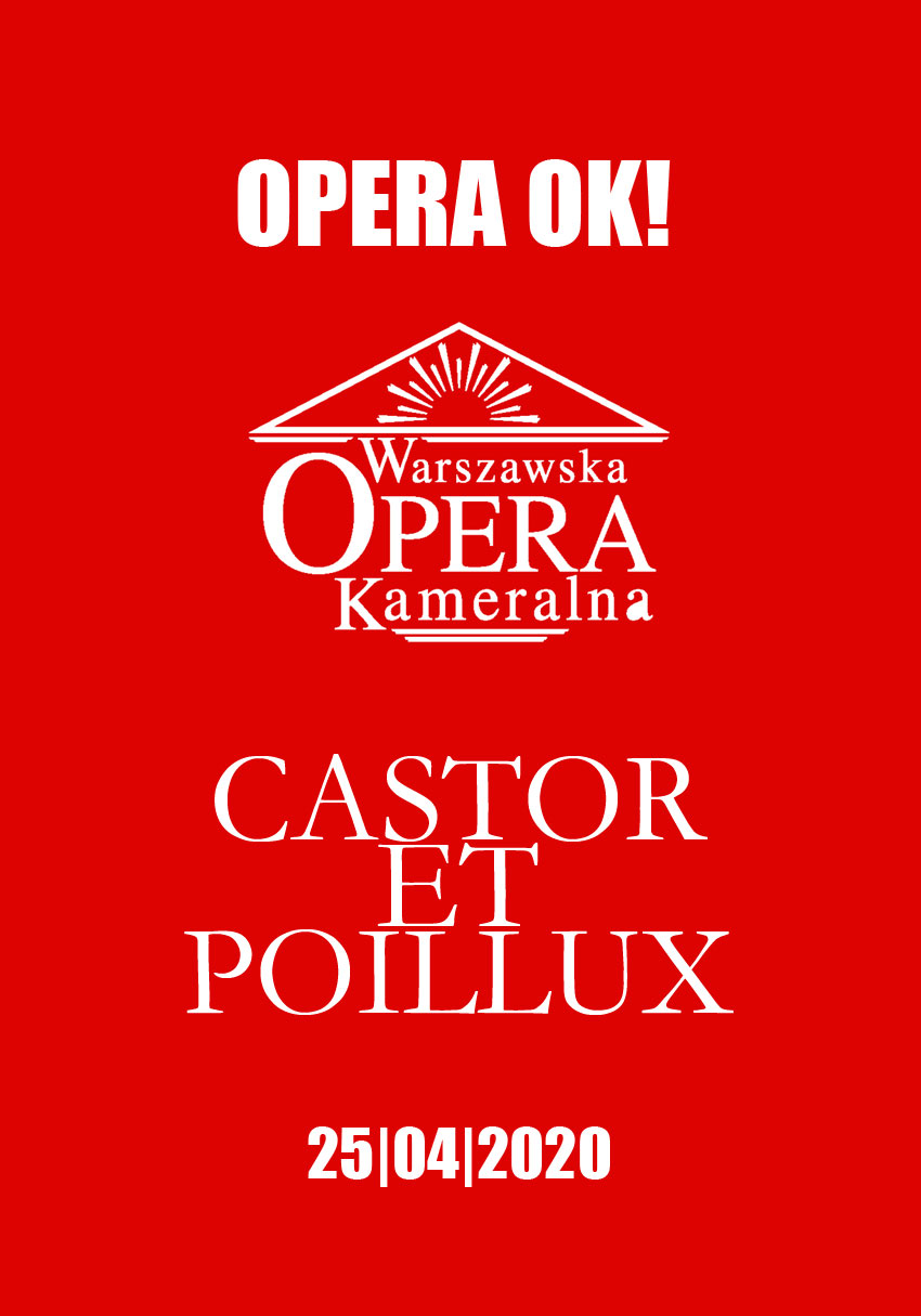 OPERA OK – episode 3 – Castor et Pollux making of – Warsaw